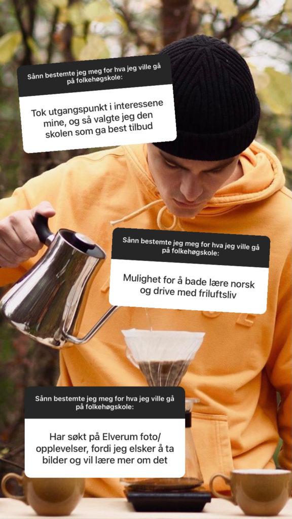 Gutt lager kaffe