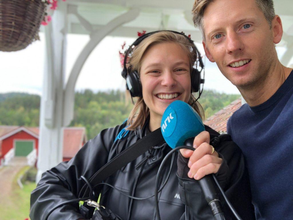 Ingrid Simensen reporter intervjuer Gaute Grøtta Grav