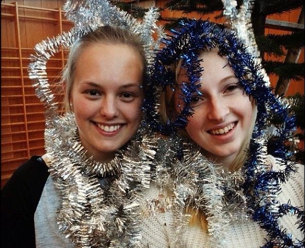 Jul på folkehøgskolen
