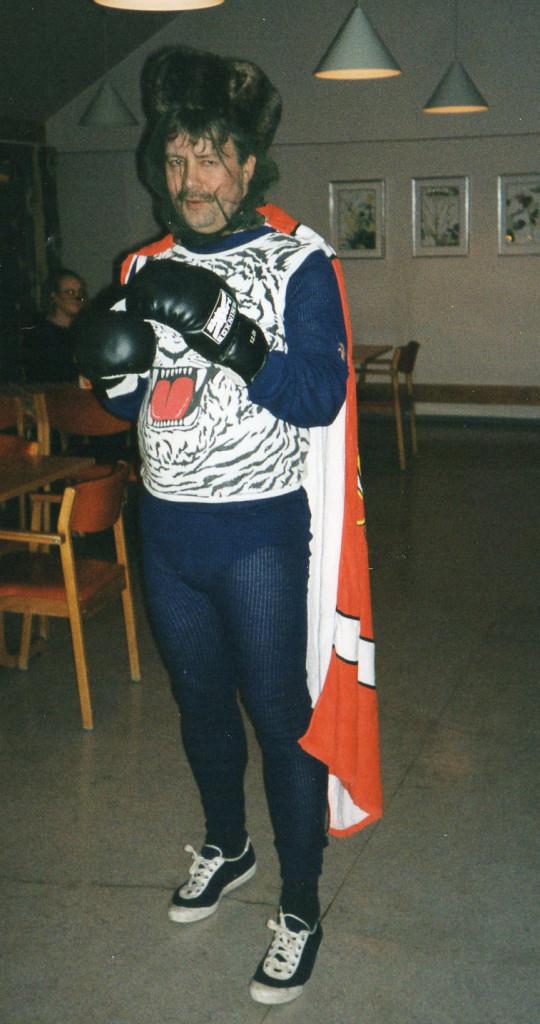 Ole Petter på Lundheim på karneval