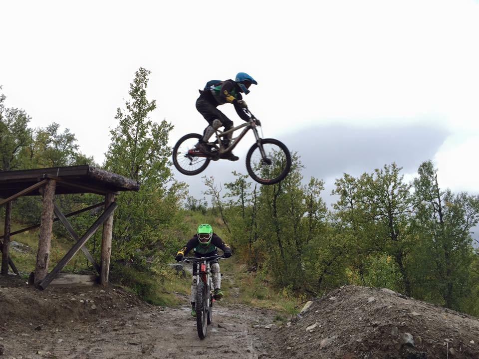 Sykkel hopp