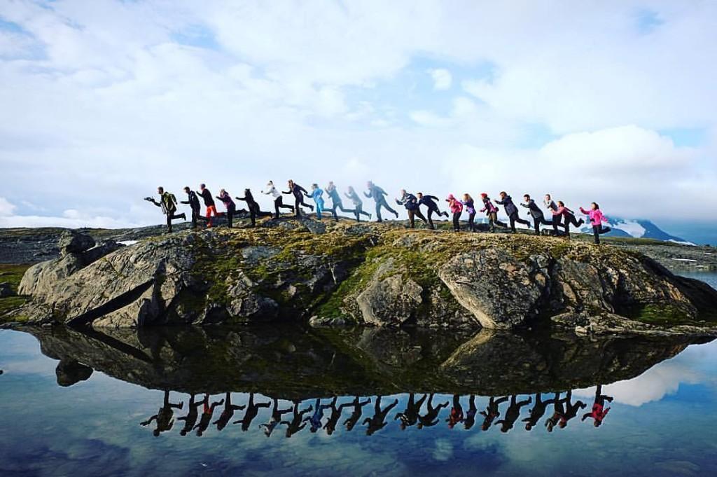 Elever ved Sogndal folkehøgskule er klare for et år med flott natur!