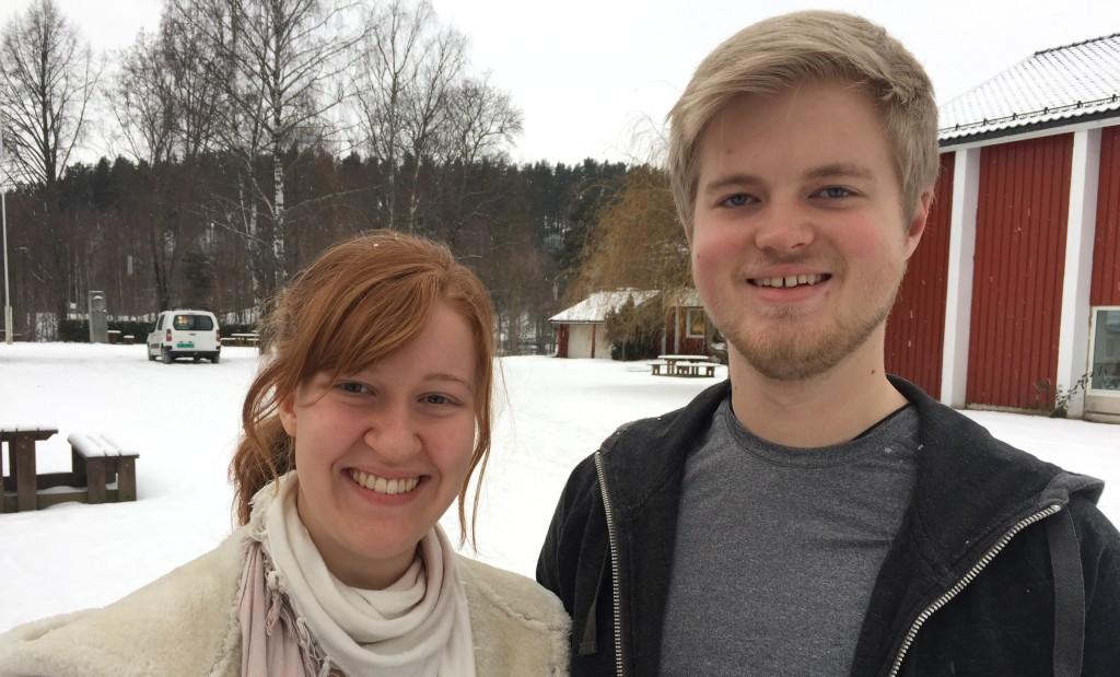 Bror Hallgren og Marianne Bull Madsen, begge fra Oslo, danser hver fredag formiddag