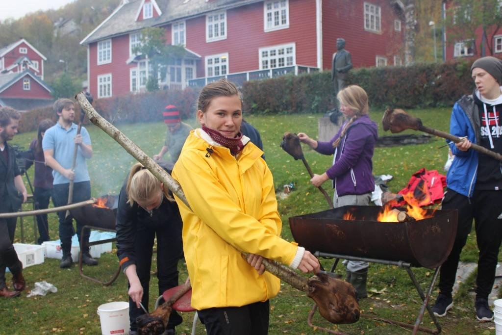Rektor på Voss folkehøgskule, Claus Røynesdal, synes vekas høgdepunkt er dobbelttimen i historie.