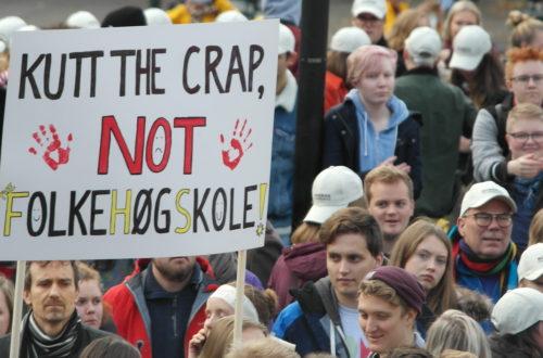 Folkehøgskole-elevene taper på regjeringens budsjett