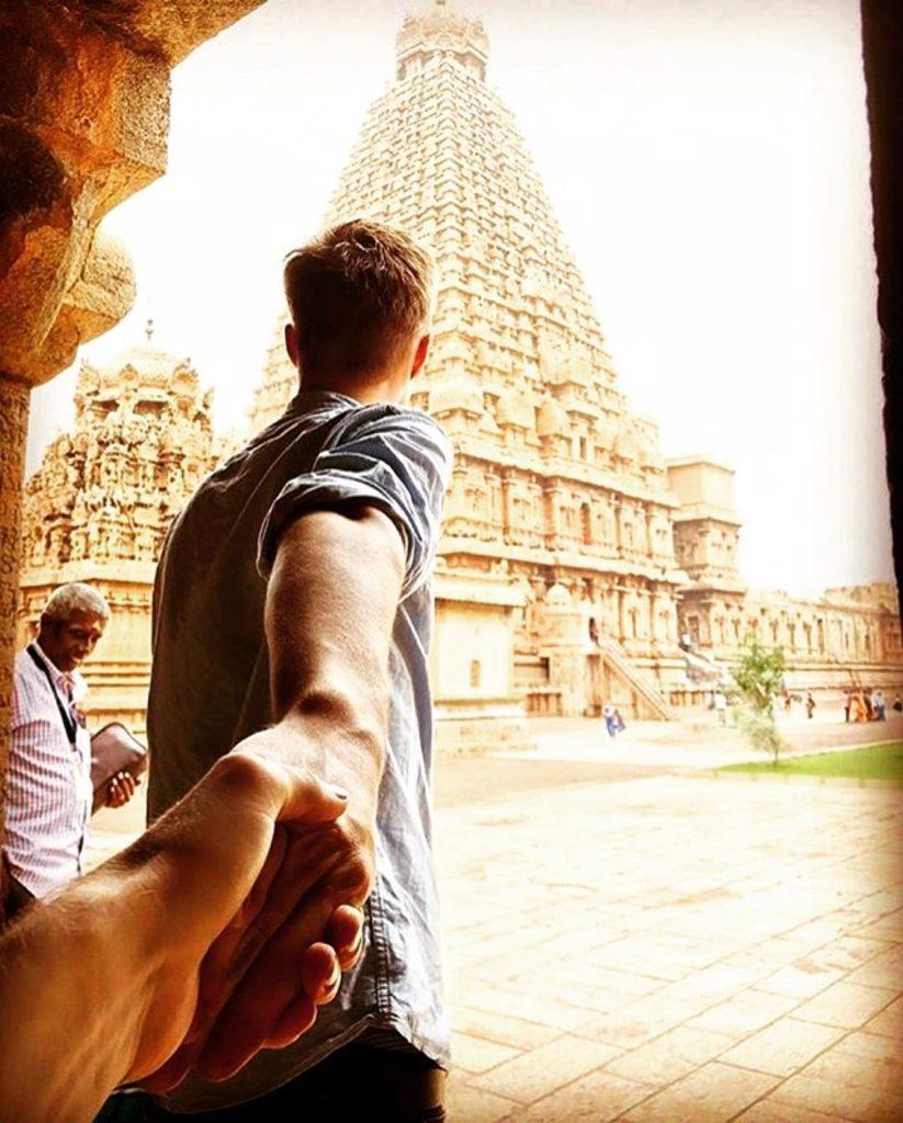 Gutt, India, tempel, holde hender