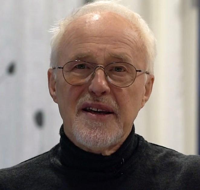 Mann, professor, portrett