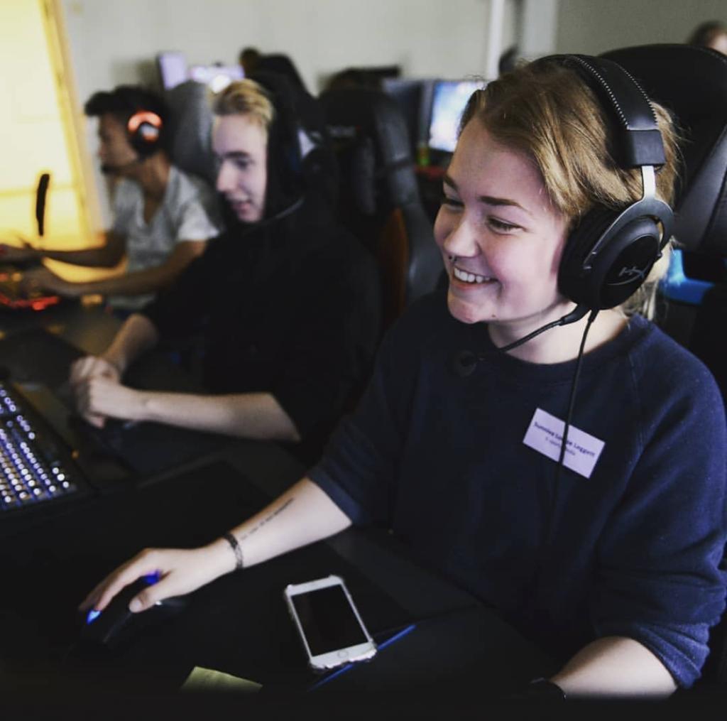 gaming folkehøgskole elever
