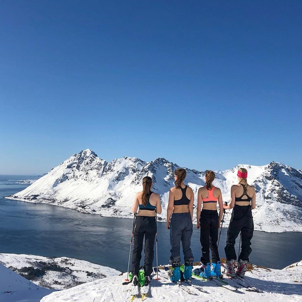 ski fjell Lofoten Foto Anton Stubberud