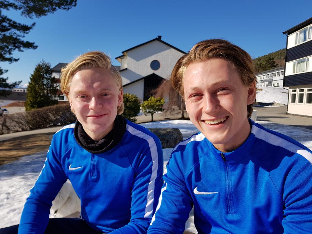 Fotball folkehøgskole Molde elever fornøyde utbytte