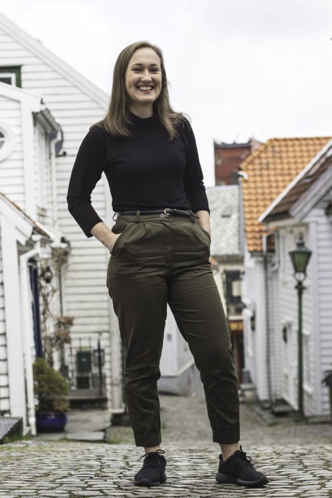 sy søm mote design bukse folkehøgskole Solborg folkehøgskole