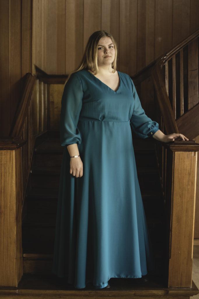 kjole sy søm mote folkehøgskole Solborg folkehøgskole