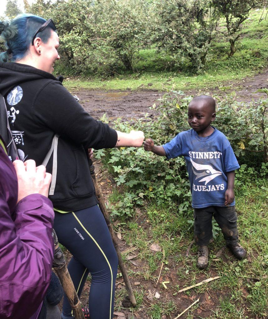 Toten folkehøgskole på studietur til Rwanda