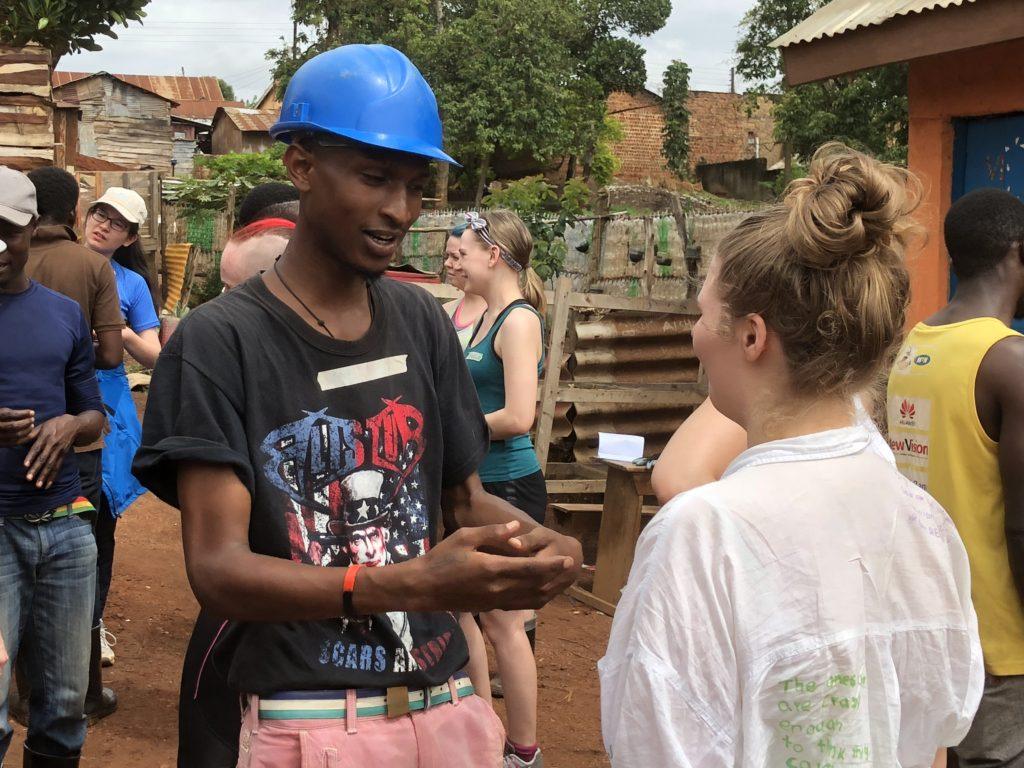 Dialog var et sentralt element i prosjektet som Toten folkehøgskole hadde sammen med ECOaction i Kampala, Uganda