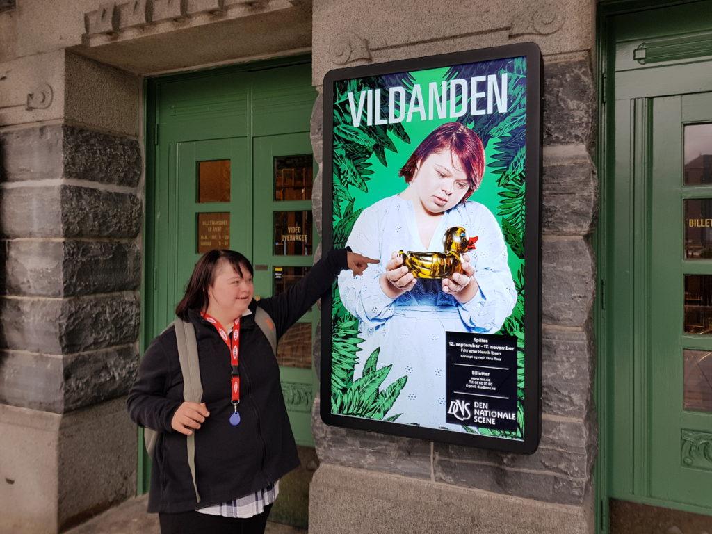 Vildanden plakat DNS Anne Sofie Kvalvik