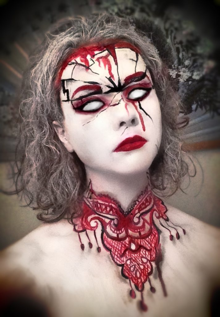 Halloween, Bloody Mary, Cosplay, effektsminke, Namdals folkehøgskole