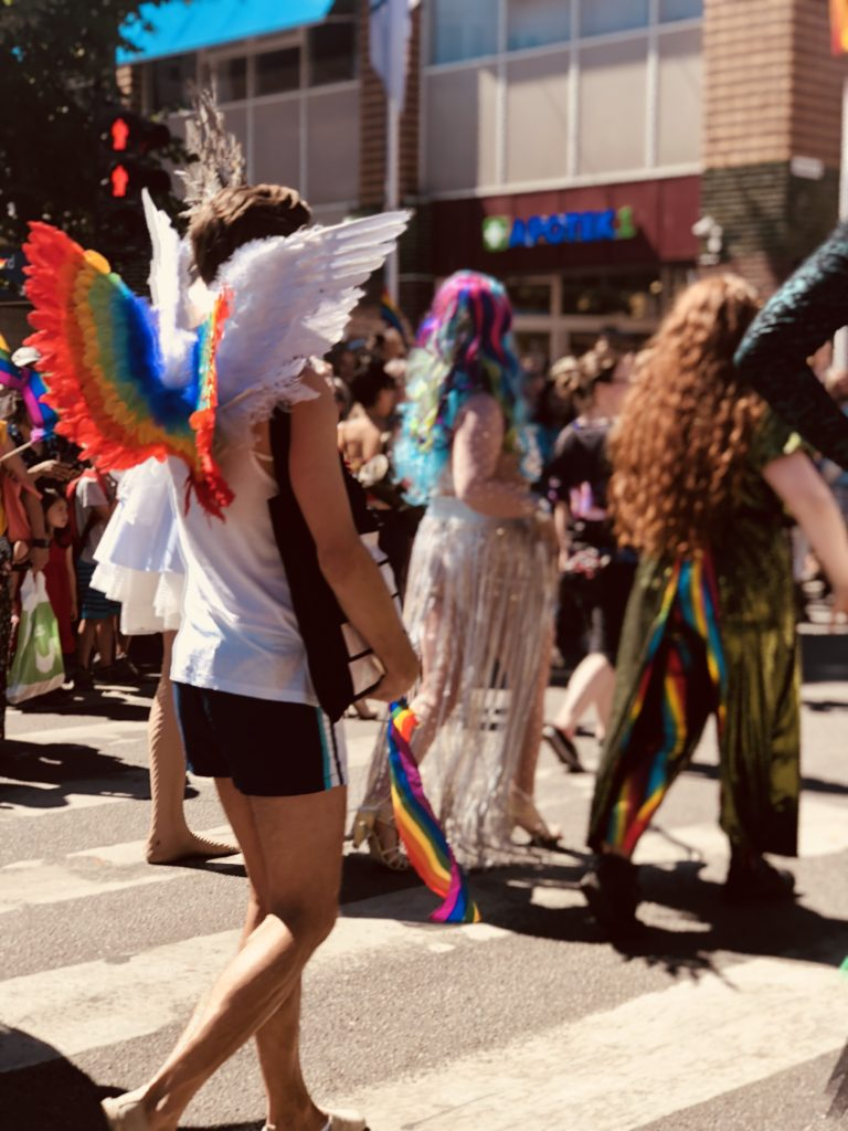 Pride parade, pride, skeiv, Oslo, folkehøgskole