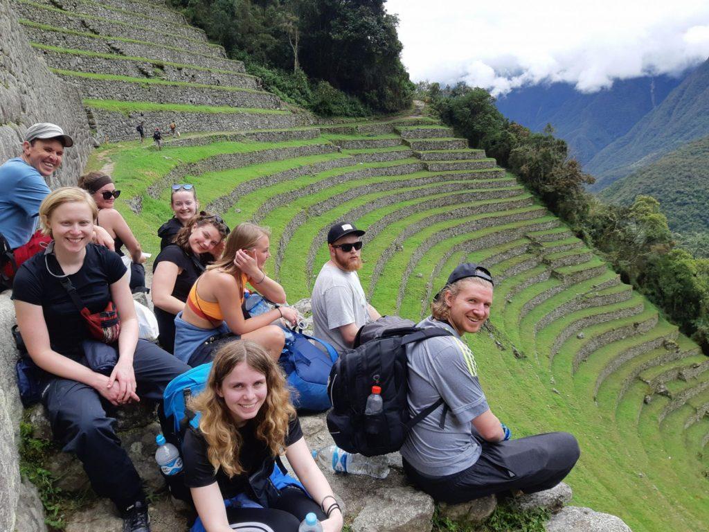 Elever ved Bakketun på studietur til Machu Picchu