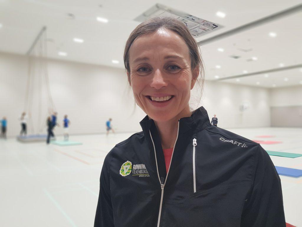 Astrid Lødemel gymsal toppidrett Rønningen folkehøgskole Oslo