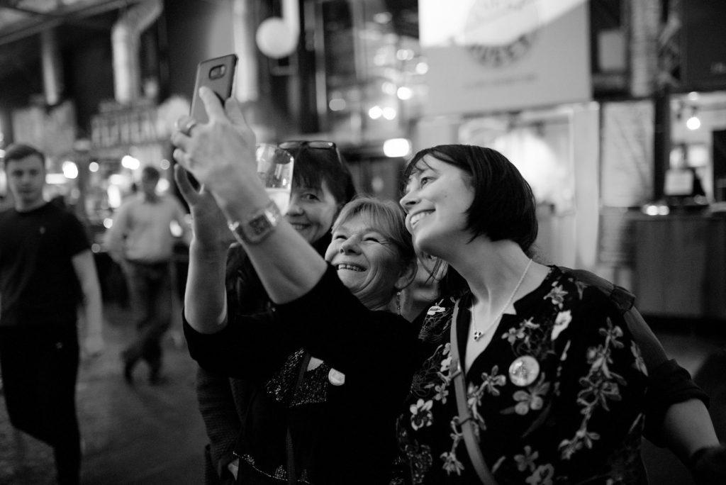 Fosen folkehøgskole, selfie, Vippa, kjøkkenteam, vinnere, Matprisen 2018, Debioprisen