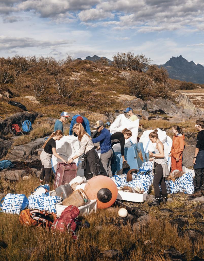 Frivillig arbeid, engasjement, strandrydding, folkehøgskole, Lofoten