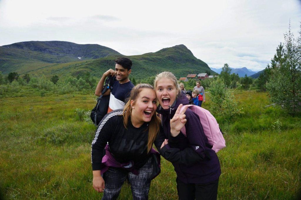 Bli kjent Ålesund folkehøgskole fjelltur