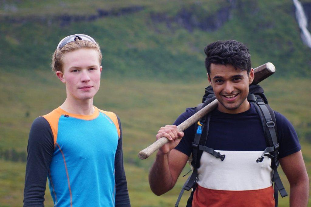 Ahsan Akhtar tur Ålesund folkehøgskole