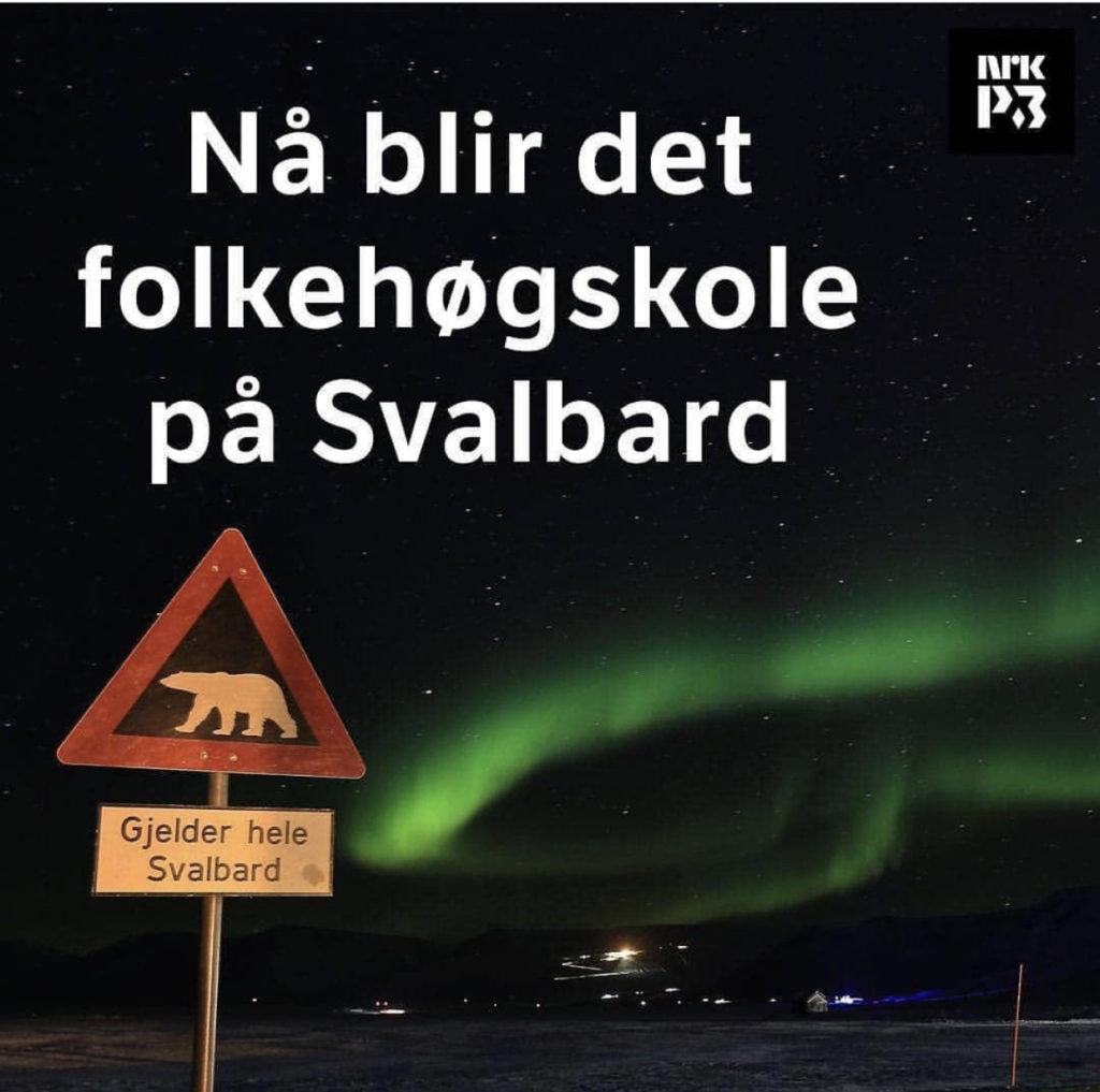 Folkehøgskole, nytt år, Svalbard, takk til politikere