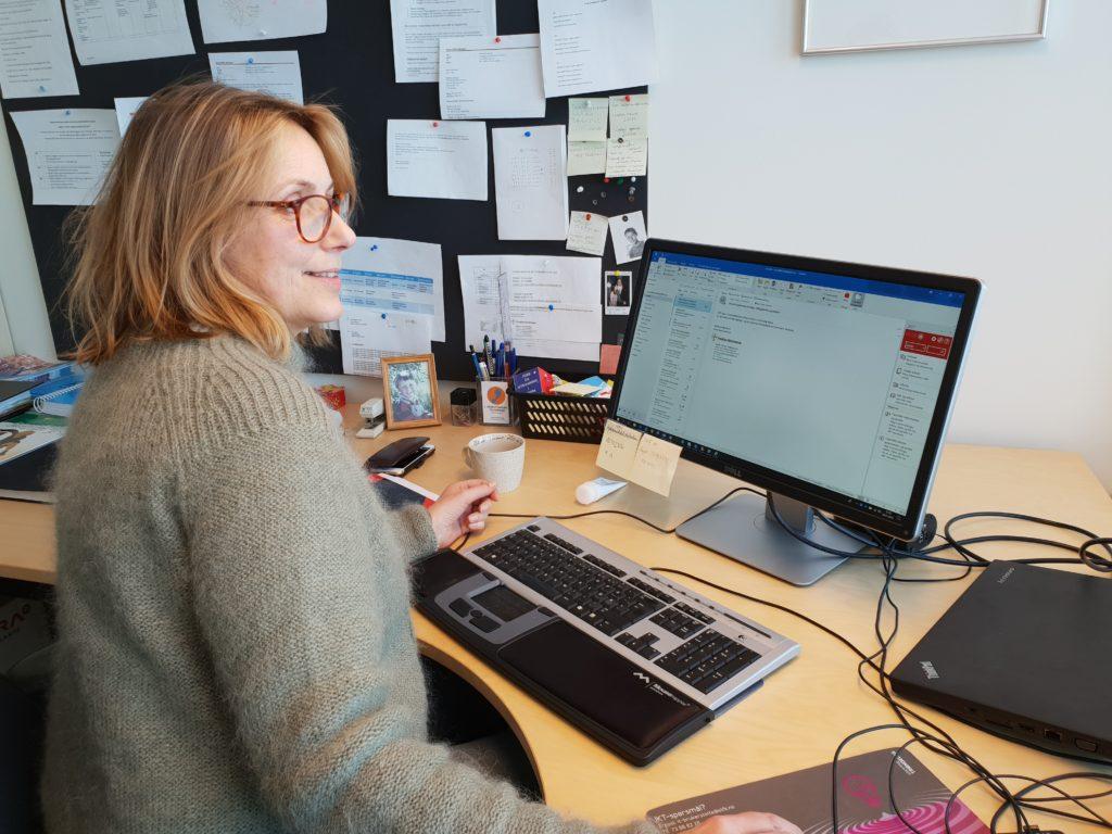 rådgiver pc kontor Charlottenlund videregående skole