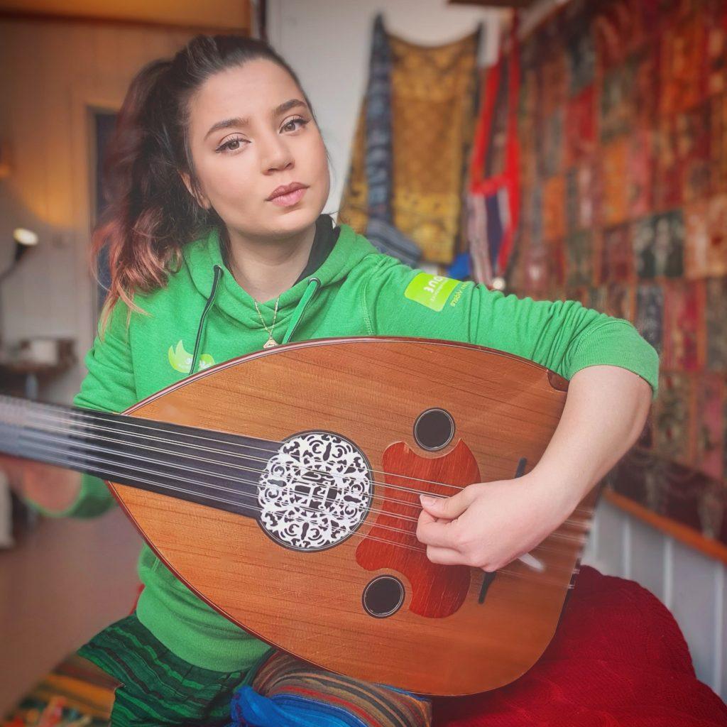 Nawar Alnaddaf Åsane folkehøgskole arabisk musikk