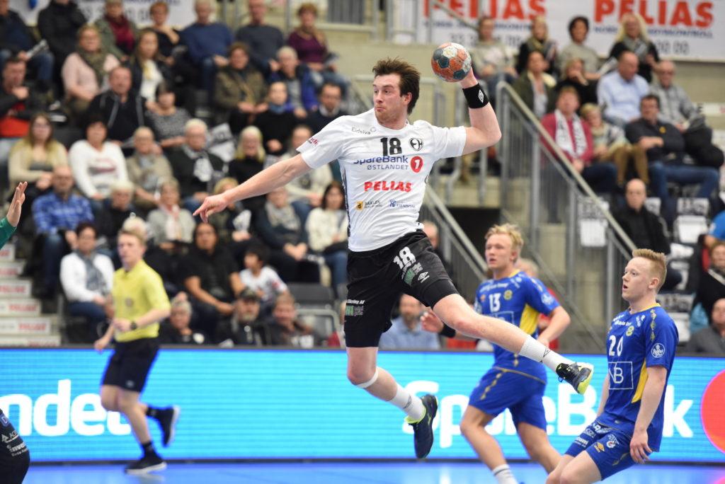 Jonas Burud håndball Skogn folkehøgskole