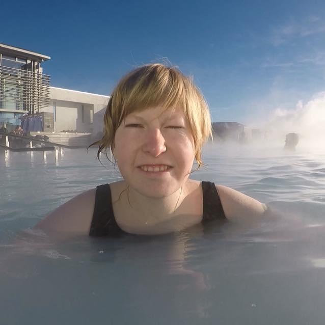 Mari Den blå lagune Island Ålesund folkehøgskole