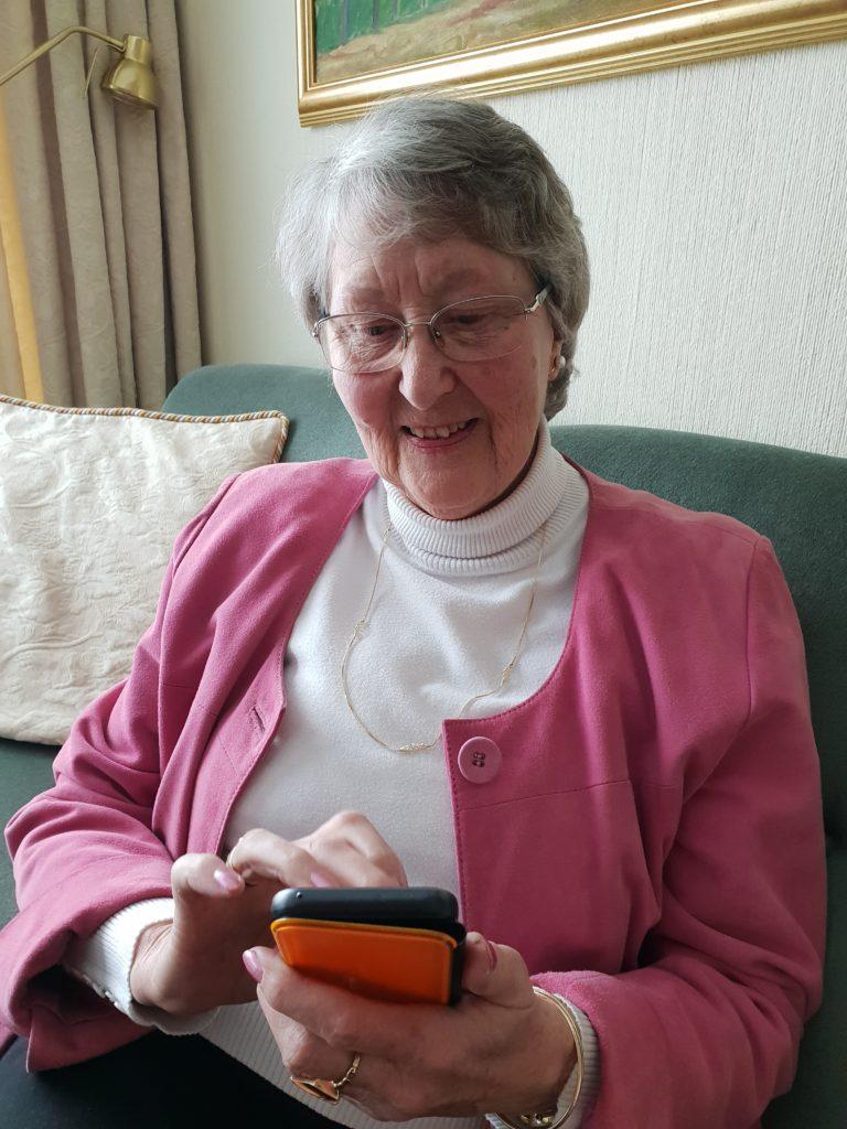 Mette Holst smarttelefon