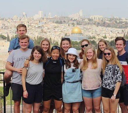 Flere av de trosrelaterte linjene har studieturer til Israel. Bilde: Helgeland folkehøgskole