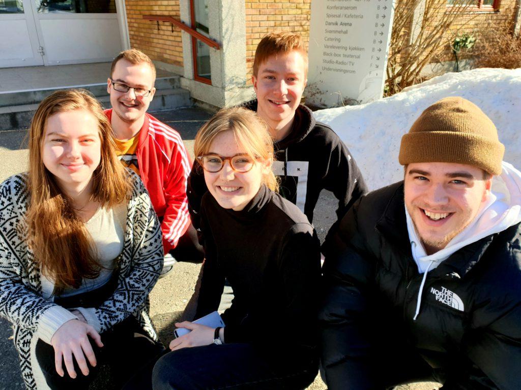 Elever Danvik folkehøgskole film Pina Colada