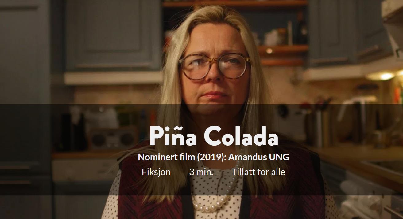 Pina colada filmplakat Danvik folkehøgskole