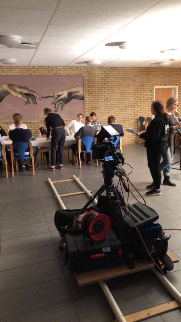 Innspilling kortfilm Danvik folkehøgskole