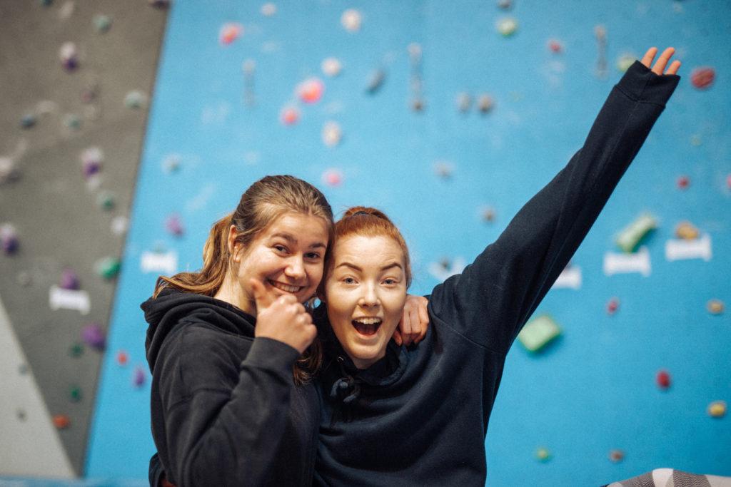 klatrevegg elever Hurdal Verk folkehøgskole