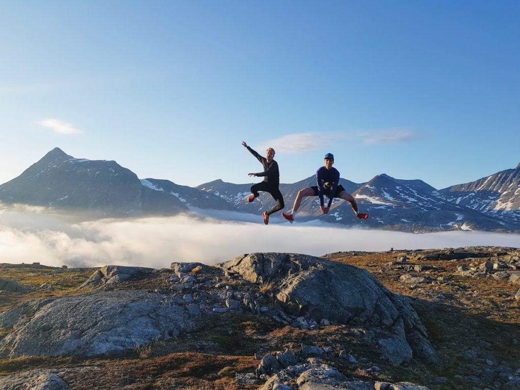 Martin Lrsson topptur fjell Sogndal folkehøgskule