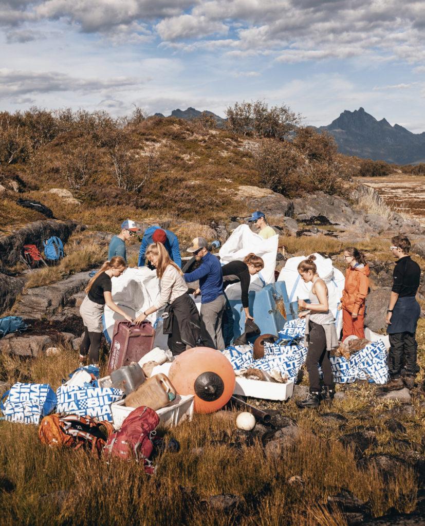 yrkesfaglig bakgrunn, søke folkehøgskole, Lofoten folkehøgskole, strandrydding, Selsøya