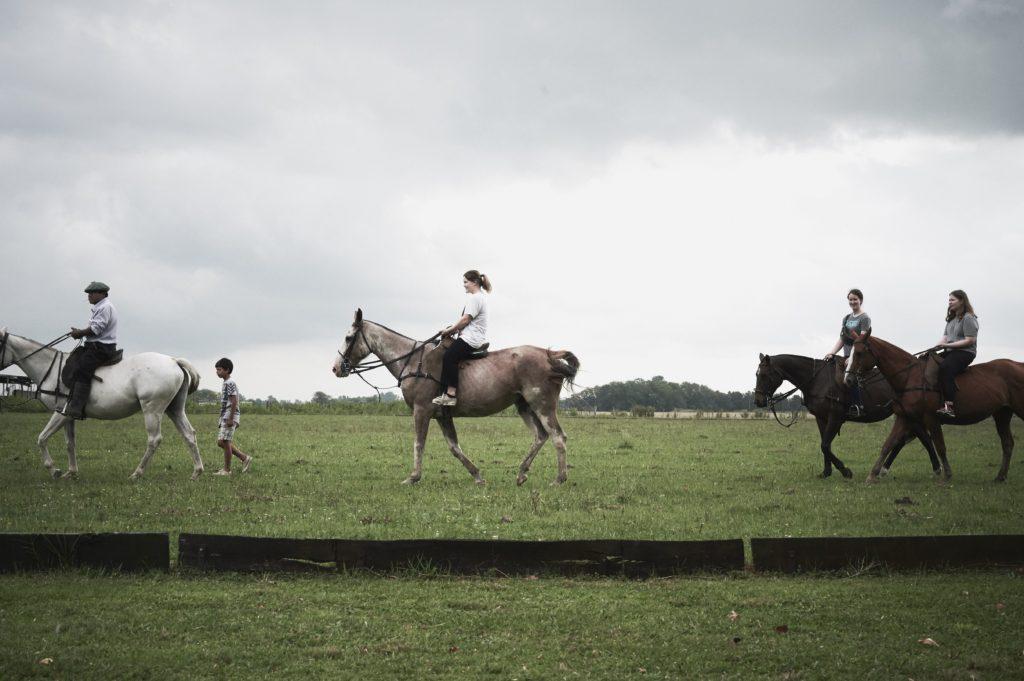 hest ridning Argentina Solborg folkehøgskole