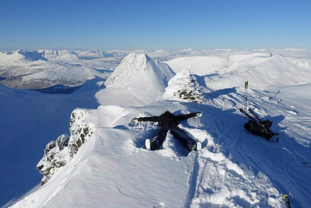 Martin Larsson topptur ski Sogndal folkehøgskule