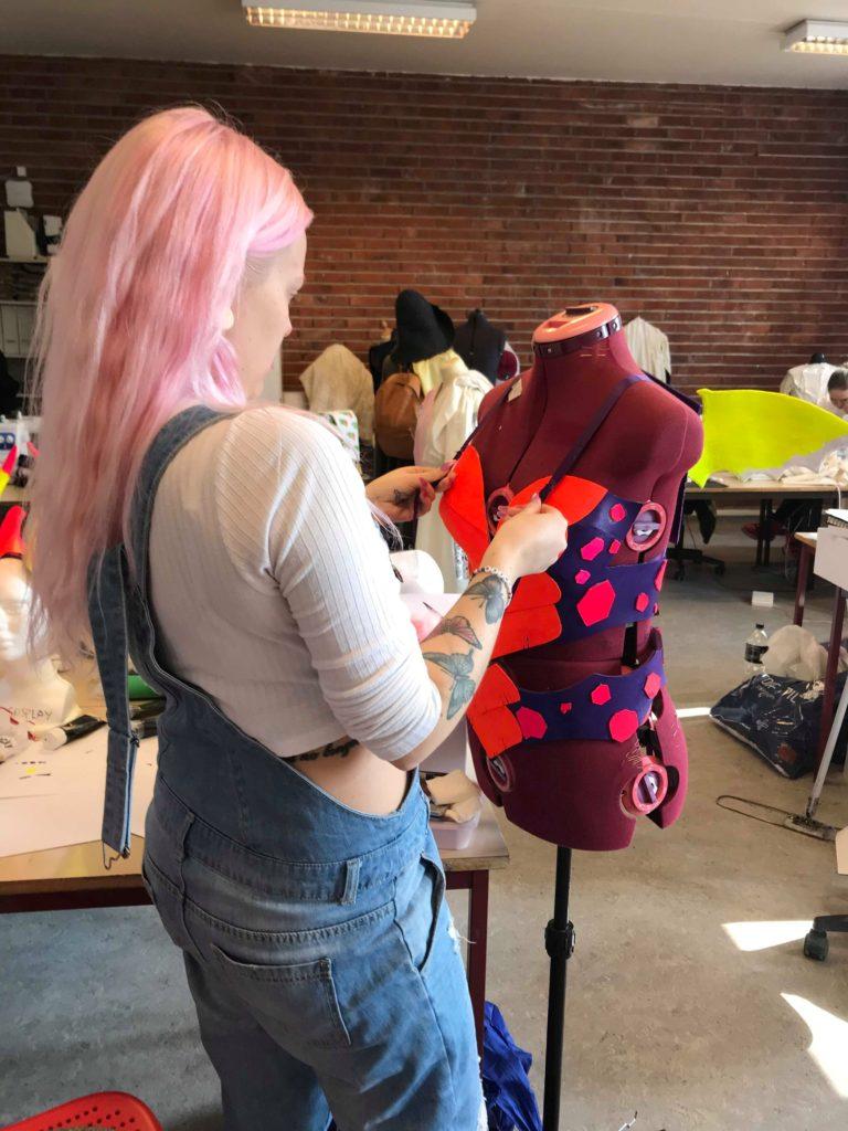 klasserom cosplay Holtekilen folkehøgskole