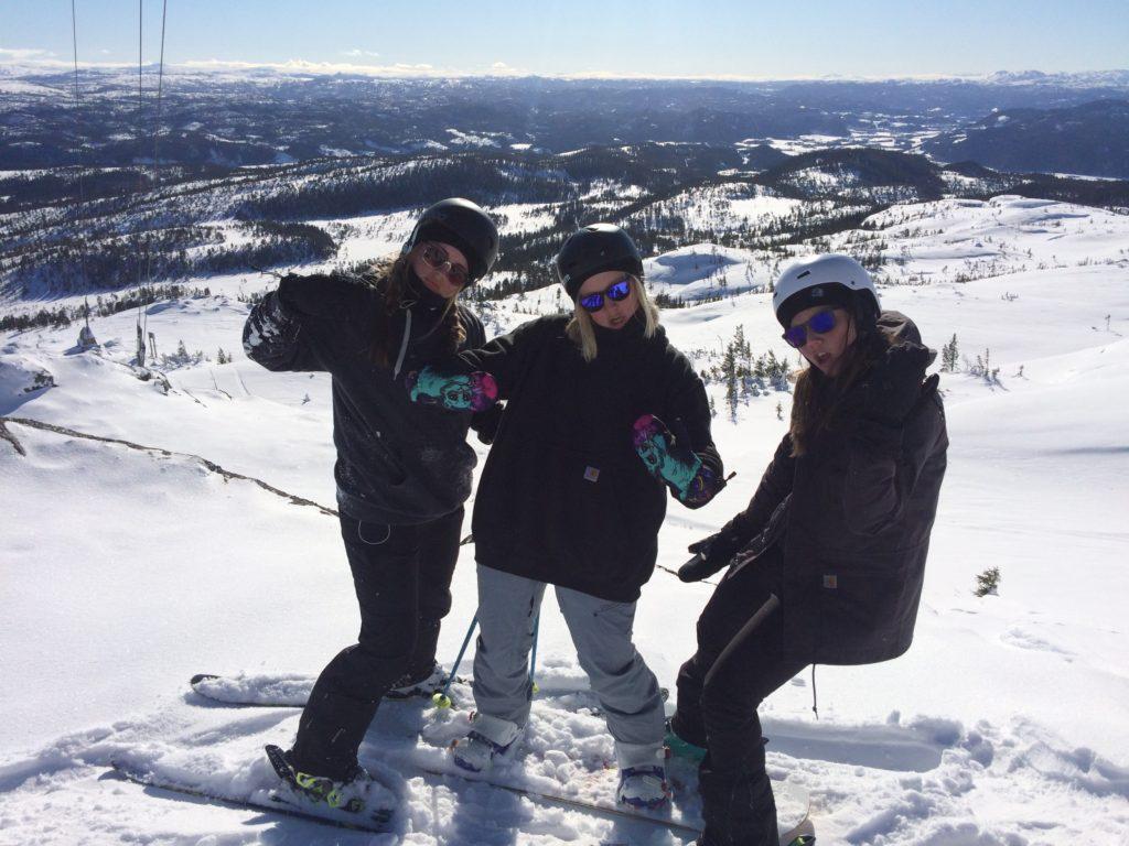 ski elever Rødde folkehøgskole