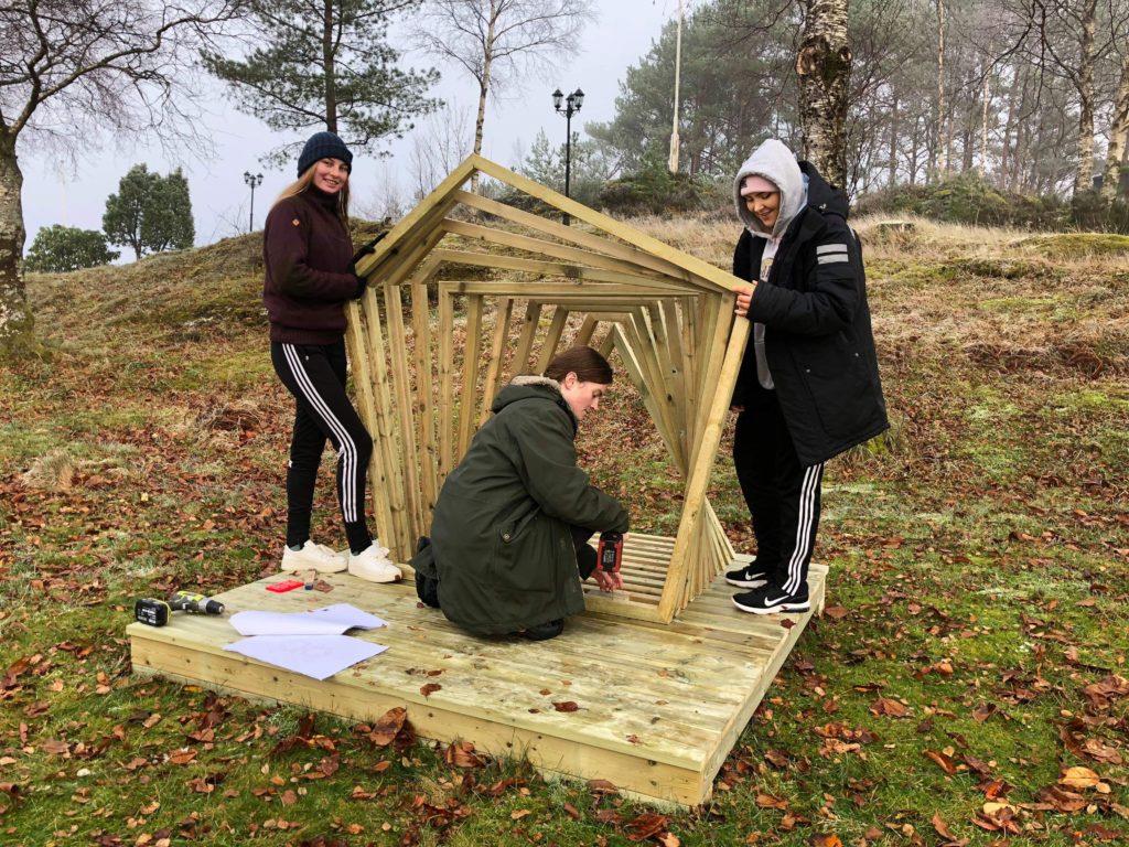 arkitektur oppgave Åsane folkehøgskole