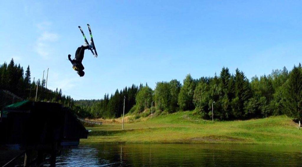 ski triks elev Rødde folkehøgskole