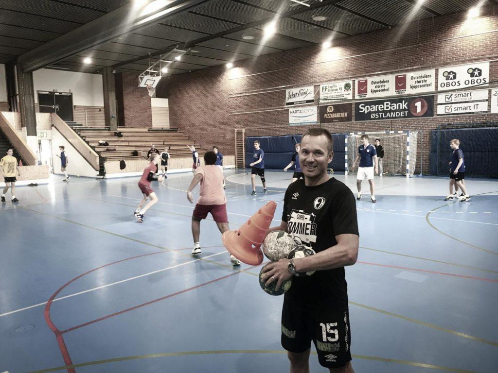 Håndballhall Elverum folkehøgskole