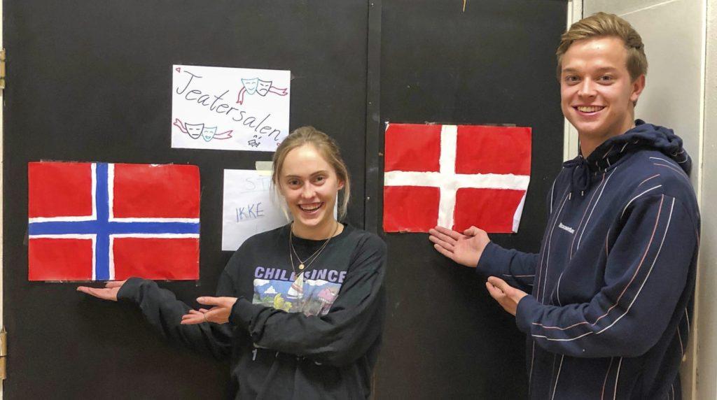 Solbakken folkehøgskole. Bilde Kari Gjerstadberget bilde av Klara Glosli og Jeppe Rydell
