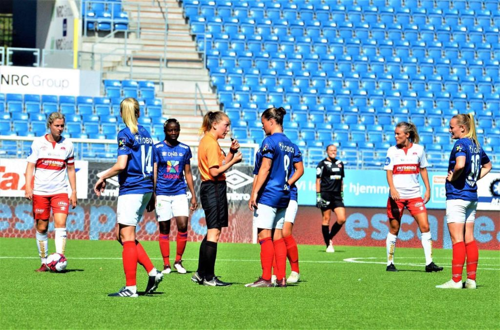 Fotballdommer cupfinalen