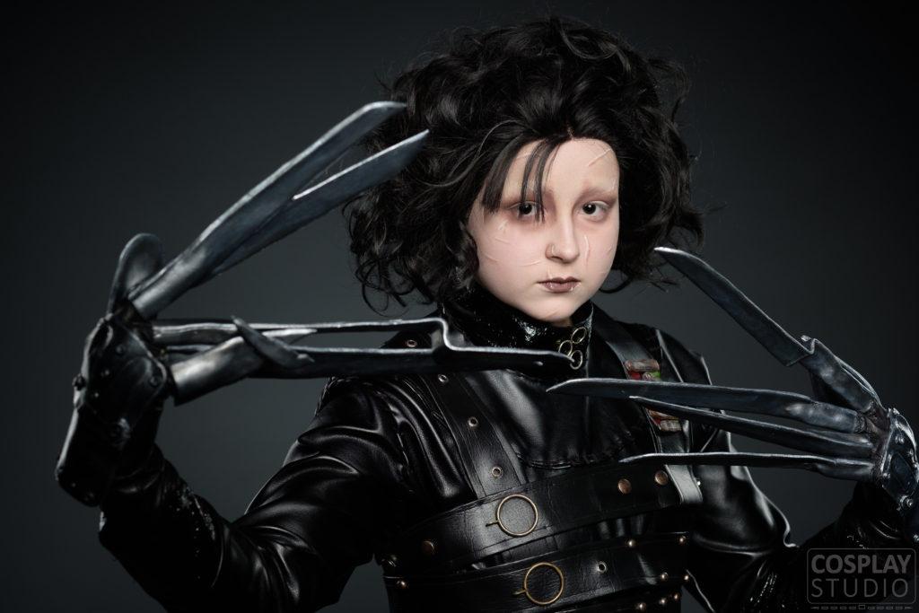 Edward Scissorhands cosplay Hardanger folkehøgskule